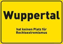 Stadtschild Wuppertal