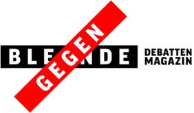 Logo Gegenblende das gewerkschaftliche Debattenmagazin. Gewerkschaft Debatte Diskurs DGB Magazin
