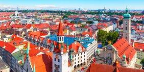 Luftaufnahme München