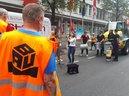 DGB-Düsseldorf bei IGBAU Demo
